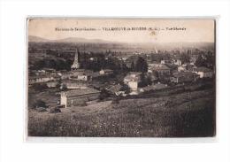 31 VILLENEUVE RIVIERE (envs St Gaudens) Vue Générale, Ed ?, 1921 - Frankreich