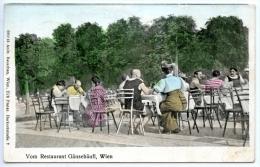 Wien, Restaurant Gänsehäufl, Schwimmbad, Alte Donau, 3.9.1913 - Wien