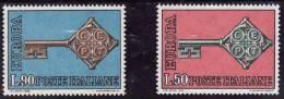 Italie 1968 -  Yv.no.1010/1 Neufs** - 1946-.. Republiek
