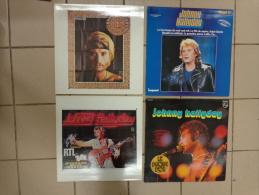 15  Pochettes VIDES - Johnny Halliday--- - Vinyles