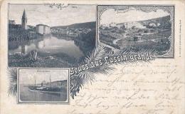 LS30  --  GRUSS AUS  LUSSIN GRANDE  --  LOSINJ  --  1906 - Kroatien