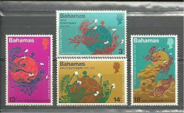 "Bahamas  ""1974""  Scott No. 358-61  (N**)  Complet - Bahamas (1973-...)"