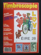 Timbroscopie N° 34 Mars 1987 - Samothrace, Empire Ottoman, Chiffres Espacés Des Colonies, Ambulants - Tijdschriften