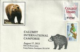 USA.  Calumet International Scout Camporee , Smethport, Pennsylvanie - Scouting