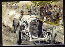 ALLEMAGNE Carte  Londres 1928  Voiture Automobile Mercedes SSK - Automovilismo