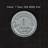 FRANCE    1  FRANC  1945  (KM # 885.1) - France