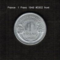 FRANCE    1  FRANC  1948  (KM # 885.1) - France