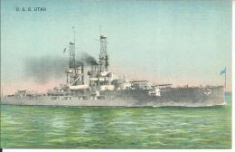 Bateaux     Uss   Utah - Guerre