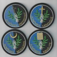 AUMONERIE  GENDARMERIE  NATIONALE - Police