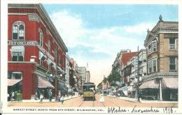 états Unis   Market Street Wilmington - Wilmington