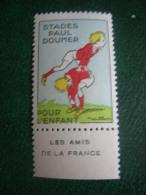 Vignette Stades Paul Doumer Pour L'enfant  Les Amis De La France - Ohne Zuordnung
