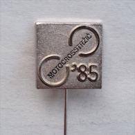Badge / Pin (Motocross) - Yugoslavia Trzic World Championship 1985 - Motorbikes