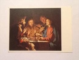HONTHORST LA CENA IN EMAUS. G - Gesù
