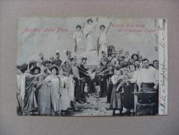 """Cartolina """"Apoteosi Della Pace"""" Ricordo Della Visita Del Presidente Émile Loubet 1904 - Non Classificati"""