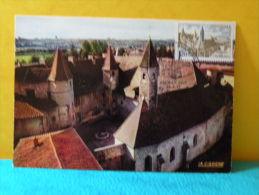 Carte Maxi / FDC, Abbaye - 42 Charlieu - 29.4.1972 - 1er Jour - FDC
