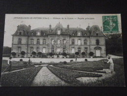 SAULZAIS-le-POTIER (Cher) - Château De La LANDE - Façade Principale - Travaux De Jardinage - Jardiniers - 27 Août 1913 - Other Municipalities