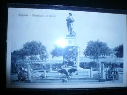 Augusta- Monumento Ai Caduti Usata 2.11.28 - Otras Ciudades