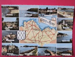 22 - Carte Département Des Côtes Du Nord - Neuve Très Bon état - Ohne Zuordnung