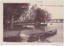 """89. Yonne : Sens : Le Coin Des Baigneurs """" A Brididi """" . - Sens"""
