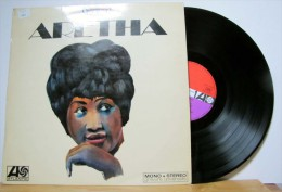 Aretha Franklin - LP 33tr : ARETHA NOW  (Pressage : Fr - 1968) - Soul - R&B