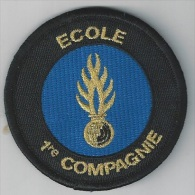 Ecusson  ECOLE 1 ère Compagnie - Police