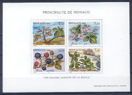 MONACO BF074 Les 4 Saisons De La Ronces - Mures Sauvages - Frutta