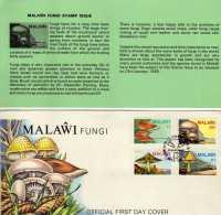 R 237 FDC Malawi 1985 Setas, Hongos, Champignons - Malawi (1964-...)