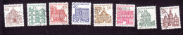 Germany, Scott #903-912, Used, German Buildings, Issued 1964-66 - [7] West-Duitsland