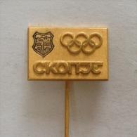 Badge / Pin (Chess) - Yugoslavia Skopje 20th Olympiad 1972 - Badges