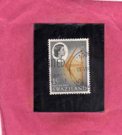SWAZILAND 1962 DEFINITIVE BATTLE AXE 1 CENT. USED - Swaziland (1968-...)
