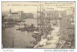 13 / MARSEILLE BASSIN DU CARENAGE / PLAN PEU COURANT / EDIT BR 148 / DOS NON DIVISE - Old Port, Saint Victor, Le Panier