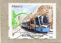 FRANCE : Train-train De Mulhouse - Train En Circulation - Transport - - France