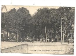 Albi (81) : La PromenadeAllées Lapérouse En 1915 (animé)  PF. - Albi