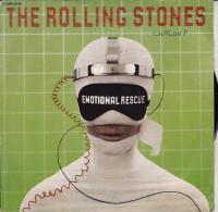 DISQUE -45 T- ROLLING STONES -  EMOTIONAL RESCUE- 1980- - Rock