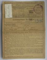 Quittungskarte  Avec Timbre Alsace Hunspach 1918 - Documenti