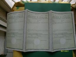 REGNO D'Italia Prestito Redimibile Cinque Per Cento R.D. 5.10.1936 Stampa Istituto Poligrafico Dello Stato - Azioni & Titoli