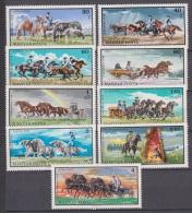 Hungary, Magyar Posta, 1968, Stud On The Puszta, Horses, MNH, *** - Paarden