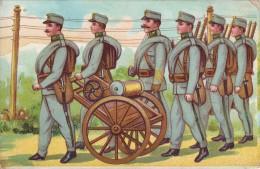 #1990 Militaria, Old Postcard Unused: WW1, Telegraph- Operator? Soldiers I. - War 1914-18