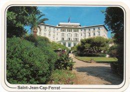 CP, 06, SAINT-JEAN-CAP-FERRAT, Le Grand Hôtel, Ecrite En 1988, Ed : La Cigogne - Saint-Jean-Cap-Ferrat