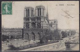 2683. France, Paris - Notre Dame, Postcard - Notre Dame De Paris