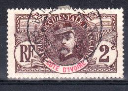 COTE D'IVOIRE YT 22 OB - Usados