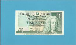 SCOTLAND - UNITED KINGDOM - 1 POUND - 19.12.1990 - P 351a - THE ROYAL BANK OF SCOTLAND PLC - 1 Pound