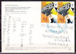 AK Patagonia Argentina, MeF Fussball, Nach Neustadt 2001 (43644) - Argentinien