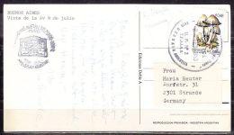 AK Buenos Aires, EF Pilze, Ushuaia Nach Strande 1983 (43645) - Argentinien