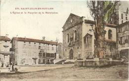 Cpa St Jean En Ryans L'eglise - France