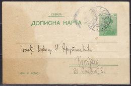 2697. Kingdom Of Serbia, 1912, Postcard - Serbie