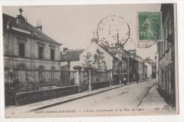 SAINT PIERRE SUR DIVES - Ecole Communale Et La Rue De Caen - Unclassified