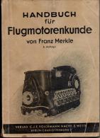 Handbuch Flugmotoren - Technik , 1942 , Wehrmacht - Flugzeug , BMW , Argus , Hirth , Bramo , Siemens , Wright !!! - Fliegerei