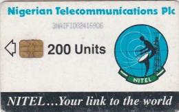 Nigeria, NGA-17b, 200 Units, Earth Station, 2 Scans.  Chip : Siemens 35 - Nigeria