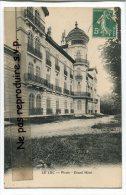 - LE LUC - Pioule - Grand Hôtel, , écrite En 1911, Cachet,  TBE, Scans. - Le Luc